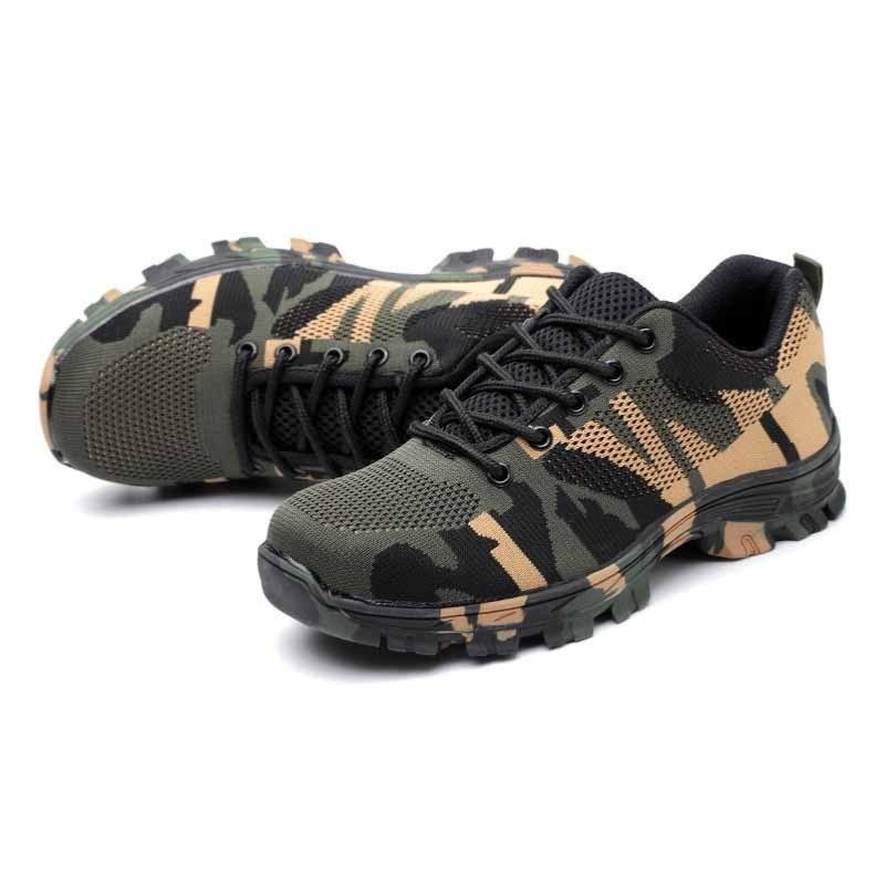 Camo Green Flexi Safety Trainer