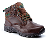 Dark Brown Waxy Metal Free Waterproof Hiker