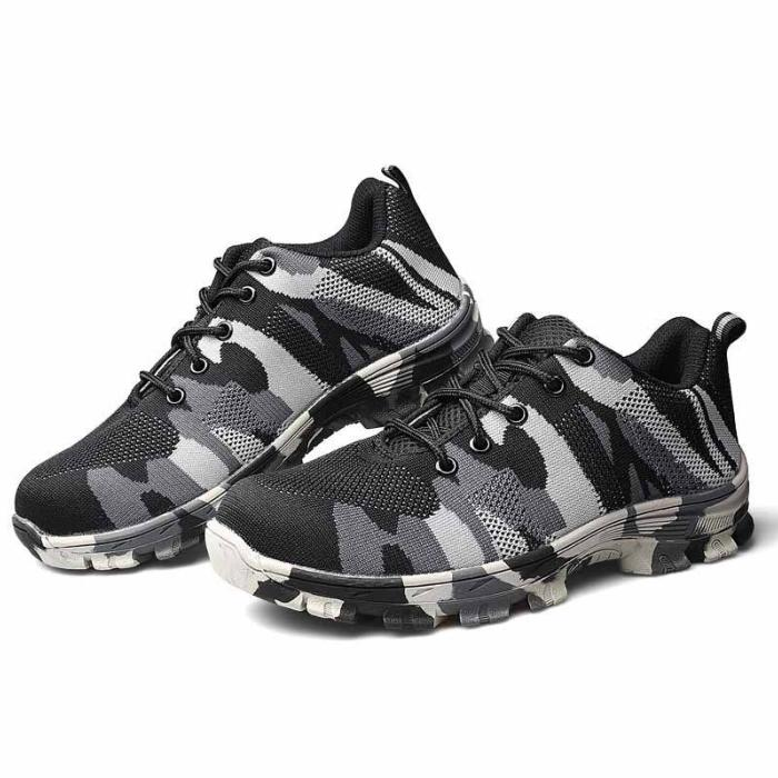 CAMO BLACK FLEXI SAFETY TRAINER