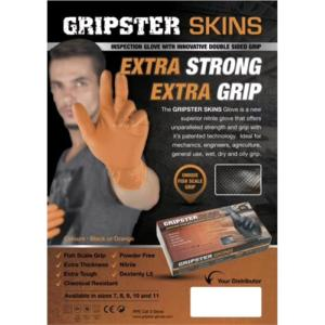 Gripster Skins Orange Fishscale Grip Glove